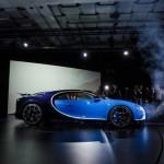 Siêu xe Bugatti Chiron khoe tiếng pô khủng khiếp