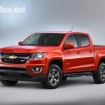 Xe bán tải Chevrolet Colorado bản nâng cấp 2016 xuất hiện