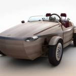 Xe Toyota concept làm nguyên khối từ gỗ