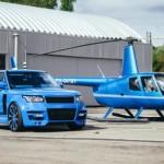 Bộ đôi máy bay trực thăng và Range rover độ bởi Klassen