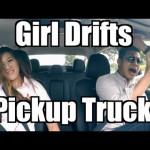 Gái xinh drift xe bán tải đỉnh cao và chuyên nghiệp