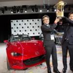 Mazda đoạt giải thưởng xe của thế giới năm 2016