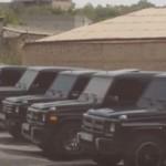 25 xe sang Mercedes G class tham dự một đám cưới