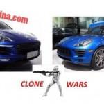 Phân biệt xe sang Porsche Macan thật và giả