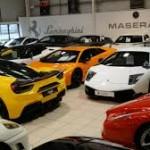 Ngắm showroom toàn siêu xe nổi tiếng thế giới