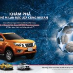 Mua xe Nissan có cơ hội xem chung kết UEFA Champions League