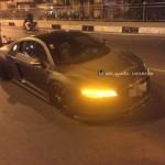 Siêu xe Audi R8 độ độc ở Sài Gòn bị xe máy tông vỡ đuôi