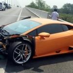 Siêu xe Lamborghini Huracan bị tai nạn không phải của Minh Nhựa