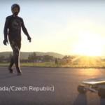 Ván trượt điện NEXTBoard tốc độ khủng ngang xe ô tô