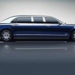 Lộ diện xe siêu sang khủng Bentley Mulsanne Grand Limousine