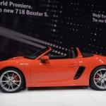 Đánh giá về xe sang Porsche 718 Boxster 2017 ở  Geneva 2016