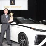 Toyota Mirai xứng đáng là xe xanh của năm 2016