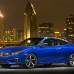 Xe Honda Civic Coupe 2016 giá từ 400 triệu đồng