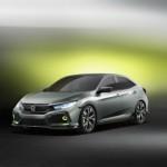 Soi kỹ từng đường nét xe Honda Civic hatchback 2016