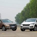 Xe Hyundai SantaFe 2016 bán giá 1,1 tỷ đồng ở Việt Nam