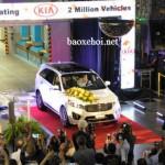 Kia đón mừng chiếc xe thứ 2 triệu sản xuất ở Mỹ