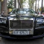 Xe siêu sang Rolls-Royce Ghost Series II ở Sài Gòn ra biển