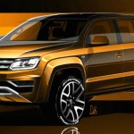 Ngắm xe bán tải hot Volkswagen Amarok 2017 nâng cấp