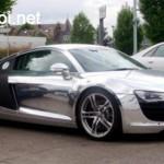 Siêu xe Audi R8 độ vỏ chrome giá khởi điểm từ 13 tỷ đồng