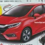 Honda Fit 2019 sẽ có 2 phiên bản động cơ mới