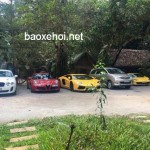 Dàn siêu xe khủng của đại gia Việt tụ họp