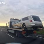 Ngắm xe sang Porsche Panamera độ thành xe đưa tang