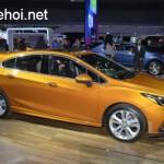 Ngắm ảnh xe Chevrolet cruze hatchback rộng rãi hơn