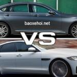 Jaguar coi Genesis là đối thủ xe sang cạnh tranh đích thực