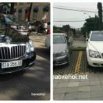 Bộ đôi xe siêu sang Maybach 62s trắng, đen biển đẹp Sài Gòn