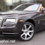 Đánh giá xe siêu sang Rolls-Royce Dawn 2016 mui trần
