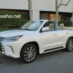 Xuất hiện Lexus LX570 2016 phiên bản mui trần ?