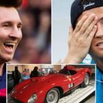 Messi thua kém xa Ronaldo về mua siêu xe