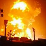 Một cây xăng bất ngờ phát nổ mạnh