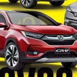 Lộ diện xe sang Honda CR-V thế hệ mới