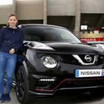 Ngắm nữ cầu thủ bóng đá đại diện hãng xe Nissan