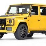 Mercedes G63 độ màu vàng thể thao