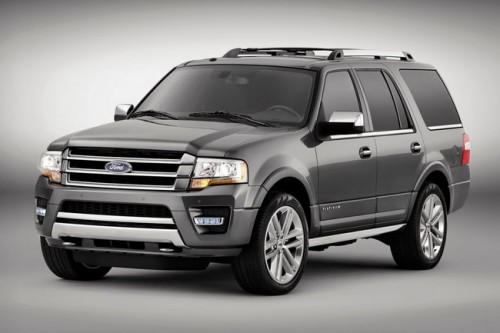 The new 2015 Ford Expedition features a 3.5-liter EcoBoost® V6 designed to deliver the most fuel-efficient and powerful Expedition ever. (Shown in Magnetic Metallic)