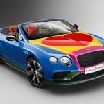 Chiêm ngưỡng siêu xe Bentley Continental GT màu sặc sỡ