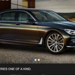 Xe sang cỡ lớn BMW 7-Series 2016 bị ngừng bán do lỗi túi khí