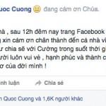 Cường đôla bỏ sử dụng Facebook