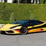 Mốt độ siêu xe Lamborghini Huracan 3 màu độc đáo