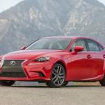 Nhiều công nghệ hiện đại trên xe Lexus IS 2017 mới