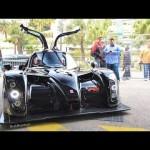 Siêu xe kiểu dáng côn trùng 2016 Radical RXC nẹt pô trên phố