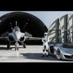 Hãng đồng hồ sản xuất Ferrari LaFerrari phong cách máy bay chiến đấu
