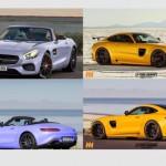 Siêu xe Mercedes-AMG GT mui trần được bán vào năm sau