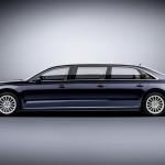 Ngắm xe siêu sang Audi A8L Extended độc nhất vô nhị