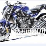 Thông tin về mẫu nakedbike mới dùng động cơ 6 xi lanh của BMW