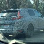 Xe cỡ trung Honda CR-V hoàn toàn mới bị bắt gặp đang chạy thử