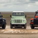 Land Rover Defender bị khai tử thành hàng hiếm liên tục bị ăn trộm
