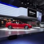 Subaru Impreza 2016 có khung gầm hoàn toàn mới